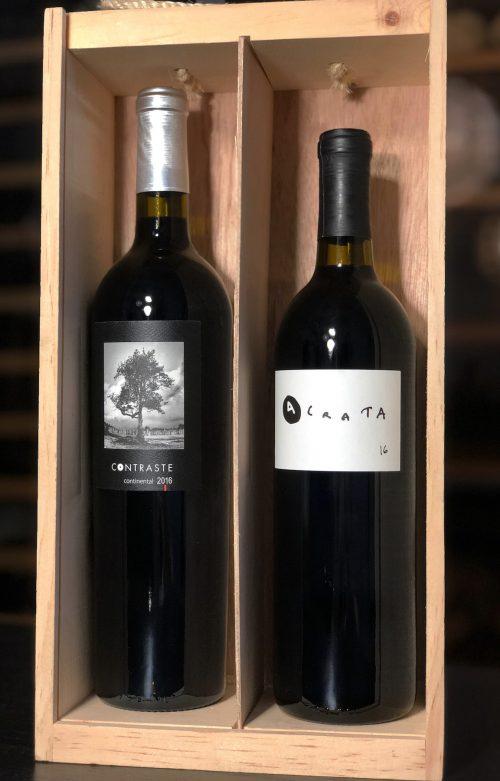 coffret vin rouge mexicain