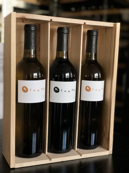coffret vin rouge vin blanc