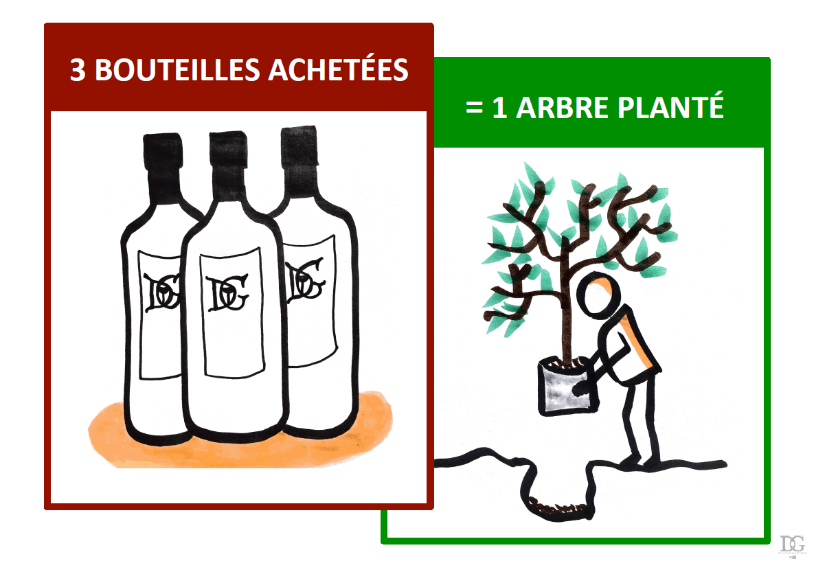 elixirs d'exception vins reforestation