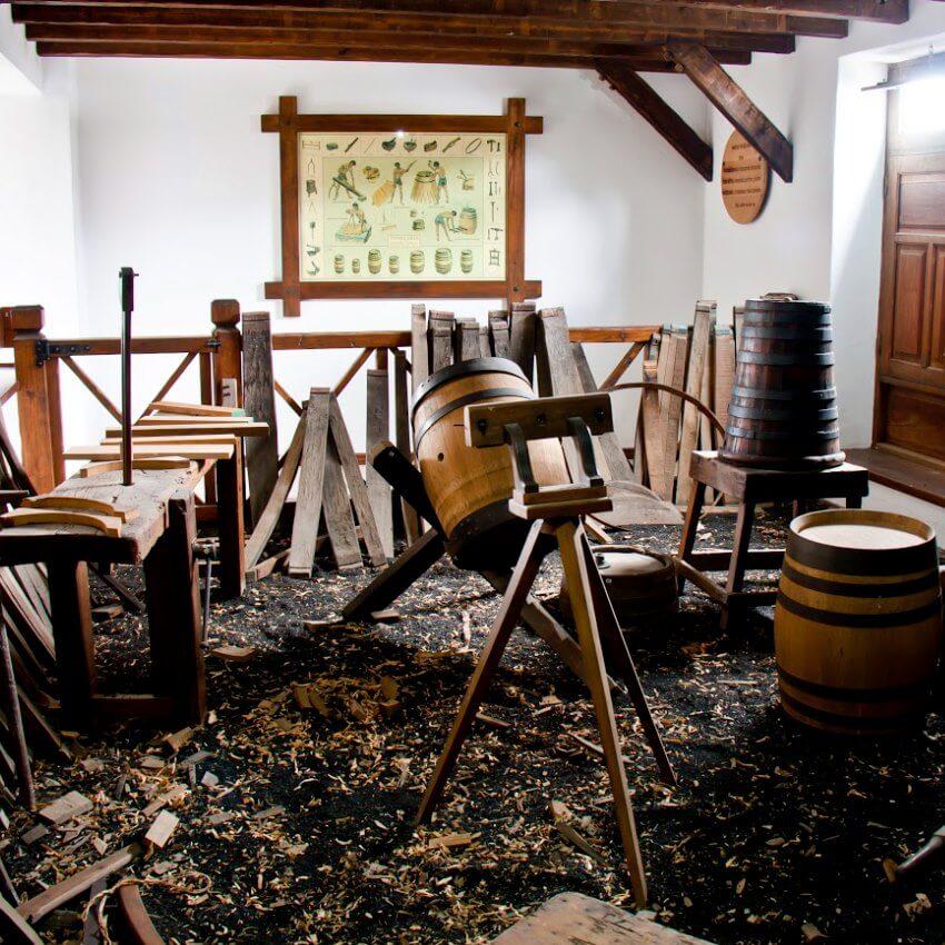 lanzarote fabrication barrique vin