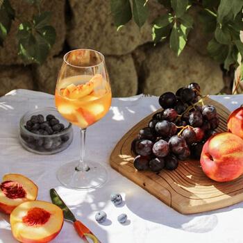 degustation vin orange