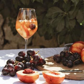 vin orange fruité