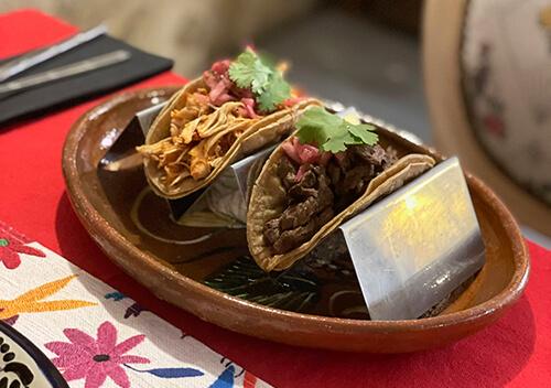 Tacos restaurant mexicain