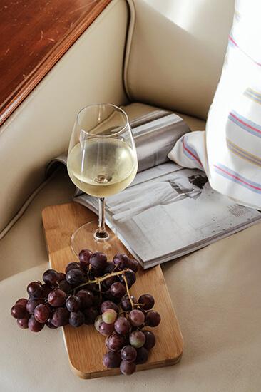 refroidir une bouteille de vin